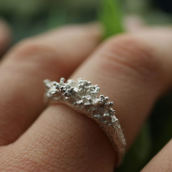 Libby ward 'Fruticose Ring 2 silver'