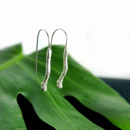 Libby Ward 'Untamed Earrings Drop silver'