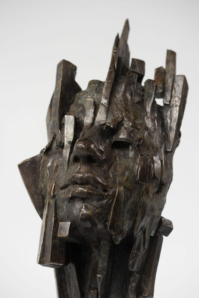 bronze sculpture by Damon Price