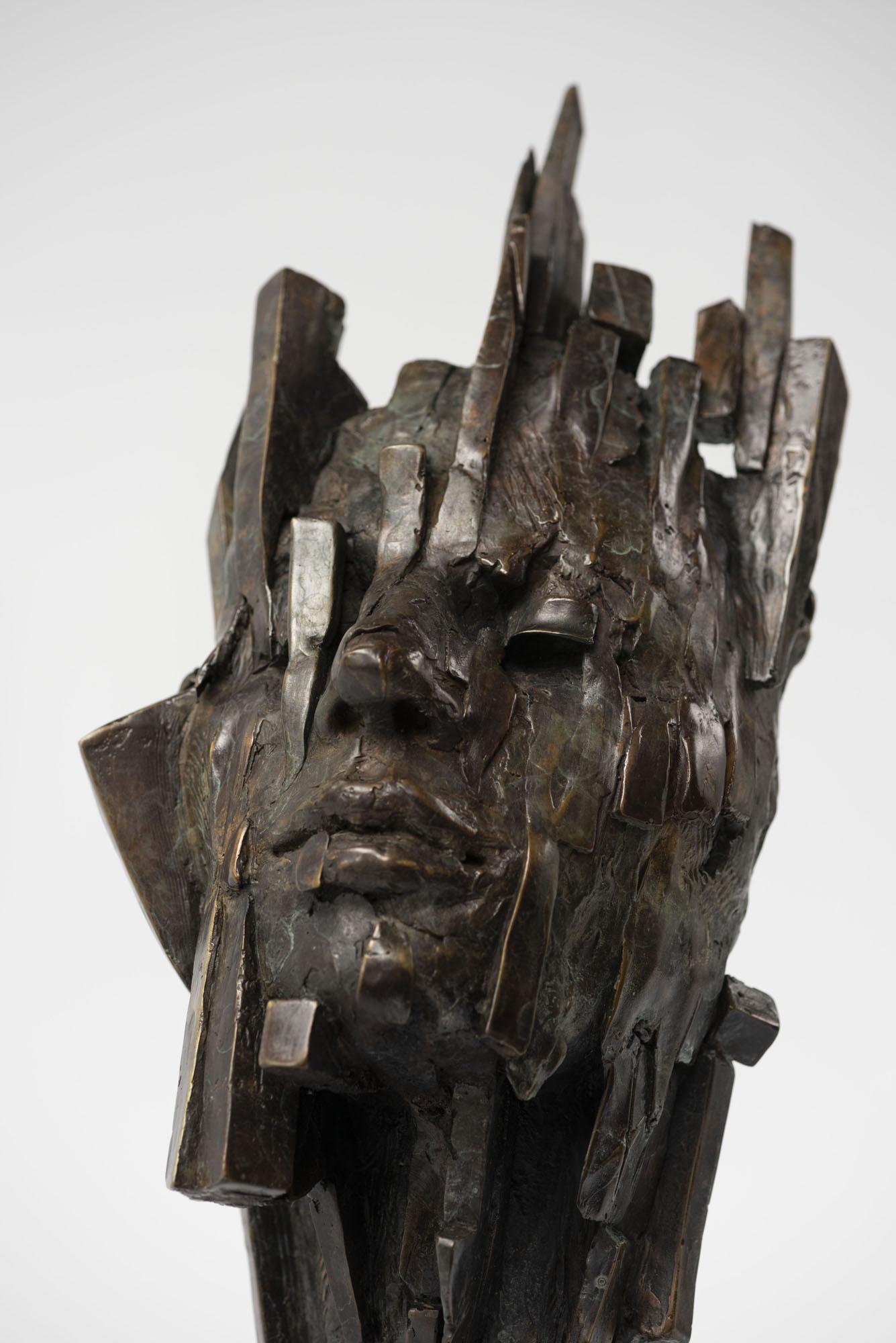 bronze sculpture by Damon Price