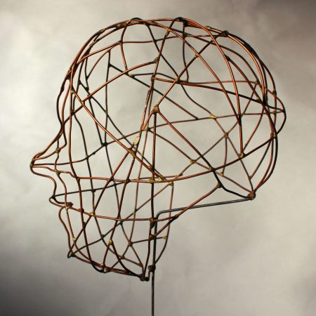 Jim Bond 'Copper Wire Head'