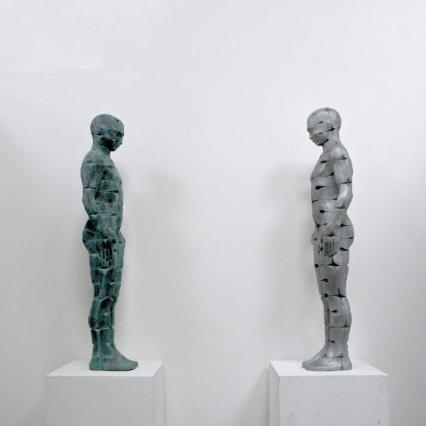 Joseph hillier 'Internal 1 aluminium and bronze'