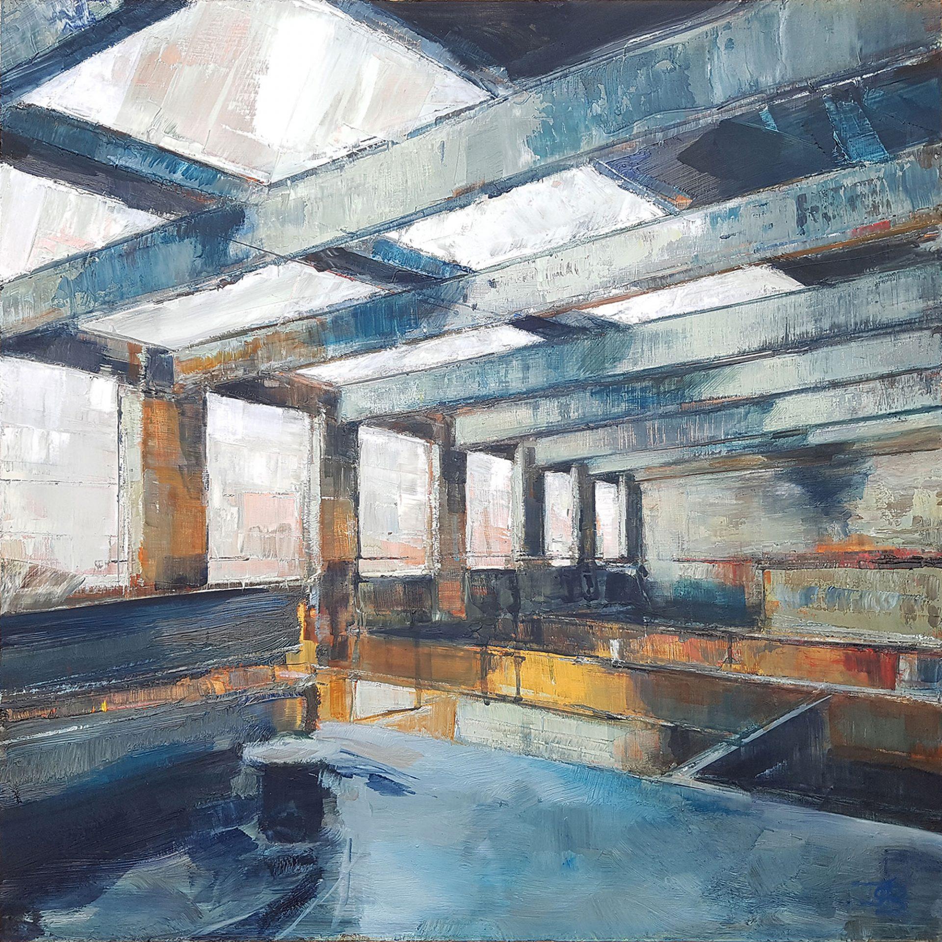 """edge"" by Julia Brown"
