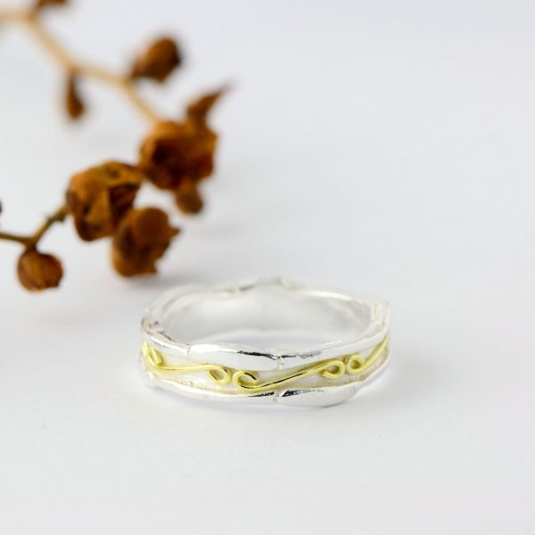 Magnolia Restrepo 'Origins Ring Band'