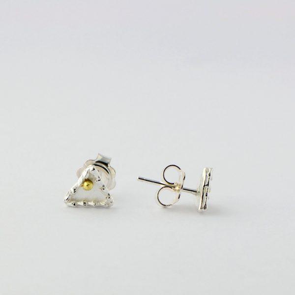 Magnolia Restrepo 'Origins triangle stud earring'