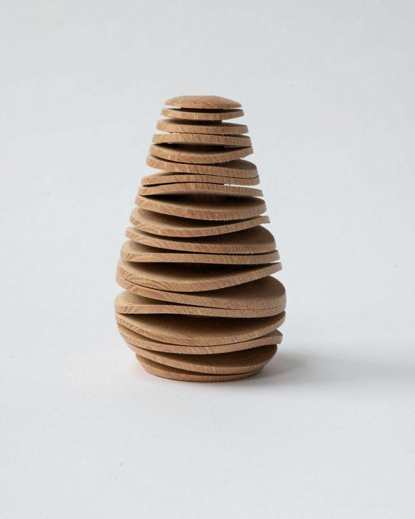 Ralph Shuttleworth 'small warped vase'