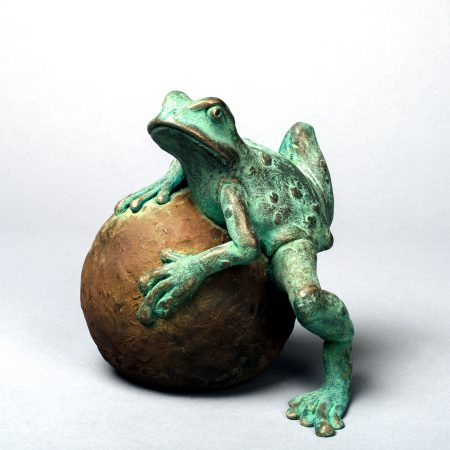 Martin Norman 'Frog on a Ball'