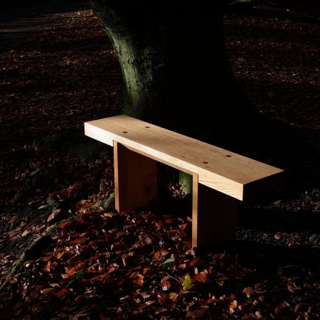 Neal Crampton Furniture 'Oak Bench'