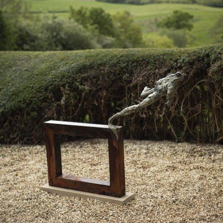 Brendan Hesmondhalgh 'leaping frog'