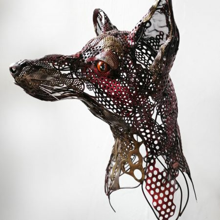 Rachel Higgins 'Fox Head'
