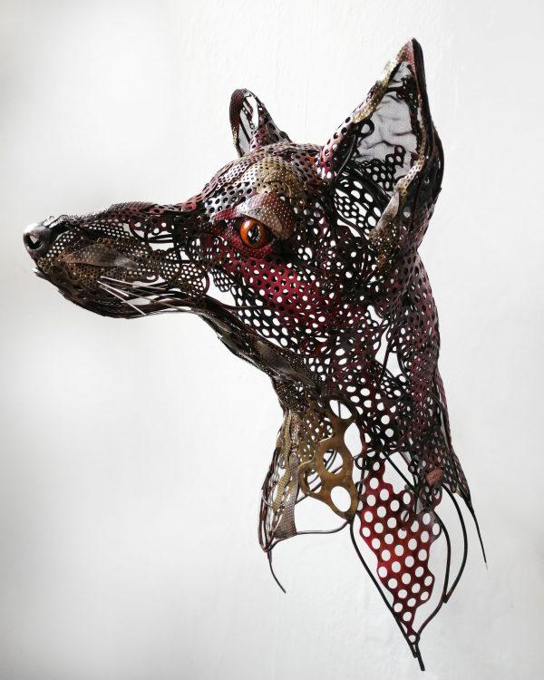 Rachel Higgins 'Fox Head'